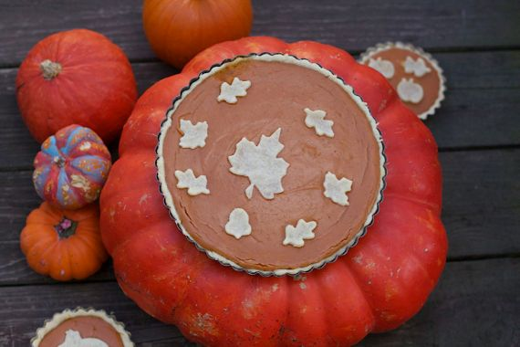 Pumpkin Cream Tart 2