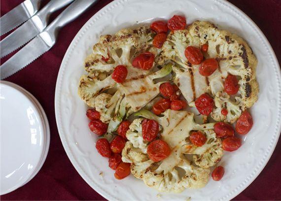 Grilled Cauliflower Steaks