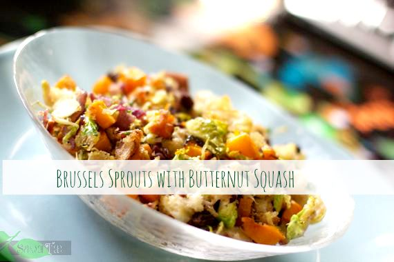 Brussels Sprouts w Butternut Squash
