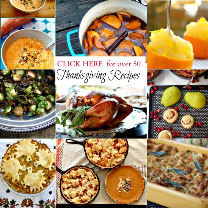 Turkey Roasted with Cheesecloth and Thanksgiving recipes from Spinach Tiger