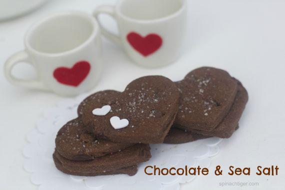 Chocolate sugar cookies by angela roberts