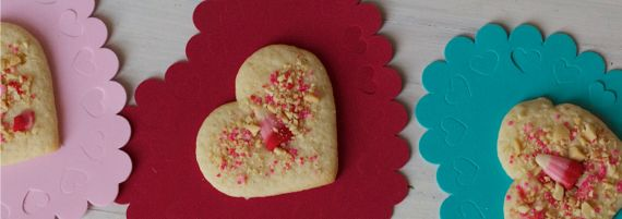Old Fashioned Sour cream sugar cookies with candy corn and peanuts by Angela Roberts