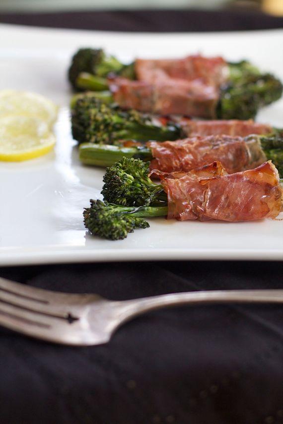 Broccolini with Prosciutto