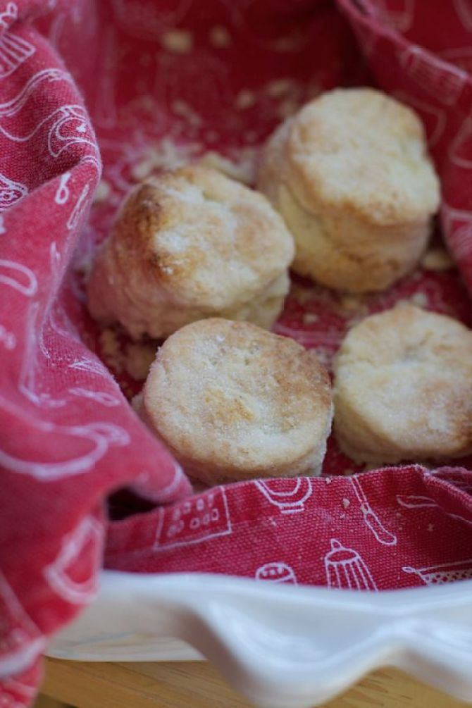 Easy homemade shortcake biscuits by Angela Roberts