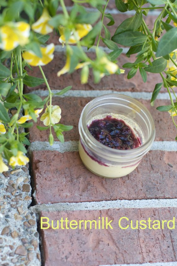 Buttermilk Dessert in a Jar by Angela Roberts