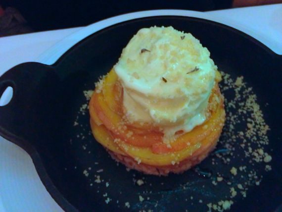 Proof on Main Peach Tart  in Louisville by Angela Roberts