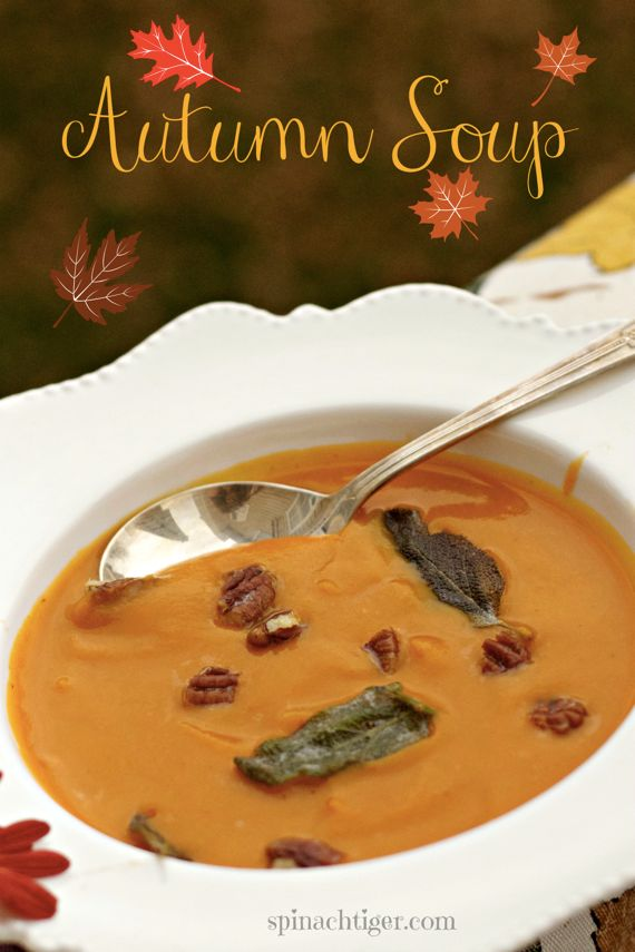 Autumn Soup, Healthy Soup Recipes by Spinach Tiger