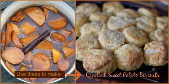 Candied Sweet Potato Biscuits by Angela Roberts