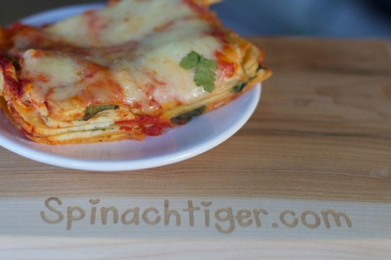 Homemade Italian Spinach Lasagna by Spinach Tiger