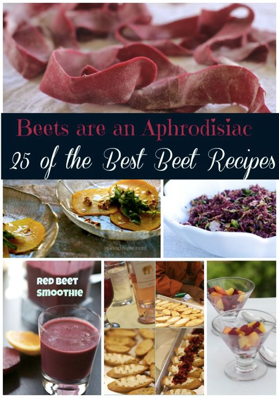 25 Best Red Beet Recipes from Spinach Tiger