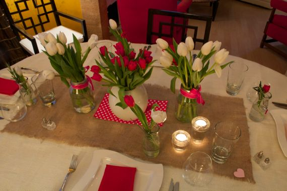 Valentine Tablescape by Angela Roberts