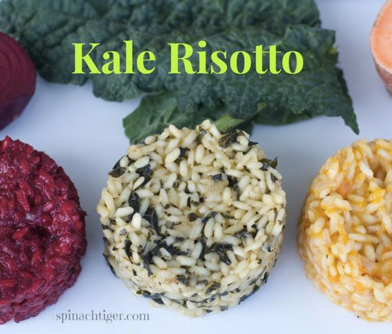 Melted Kale Risotto by Angela Roberts
