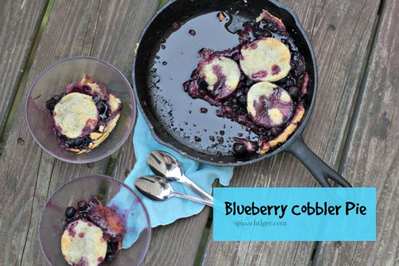 Blueberry Pie Cobbler Using Frozen Berries by Angela Roberts