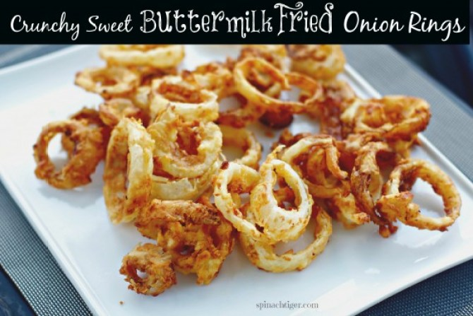 Buttermilk Fried Onion Rings by Angela Roberts