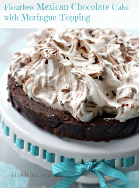 Flourless Mexican Chocolate Cake 6 by Angela Roberts