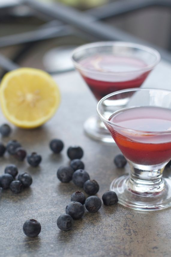 Blueberry Old Fashioned by Angela Roberts
