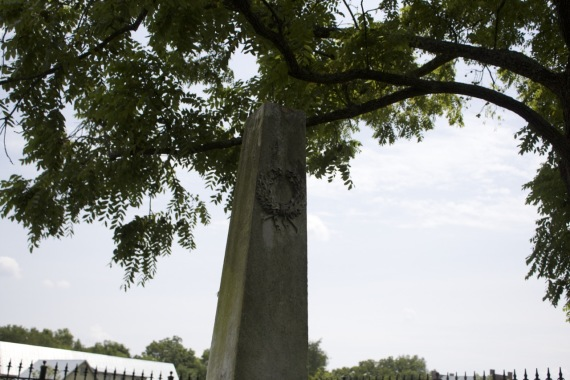 Cemetery at Carton Plantation by Angela Roberts