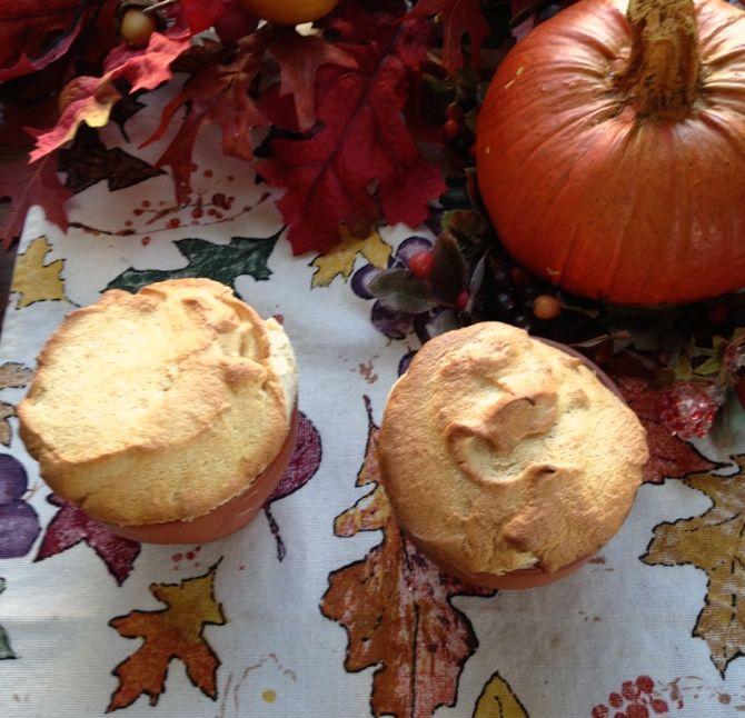 Pumpkin Soufflé by Angela Roberts
