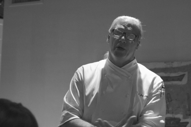 Chef Joe Shaw at Watermark by angela roberts
