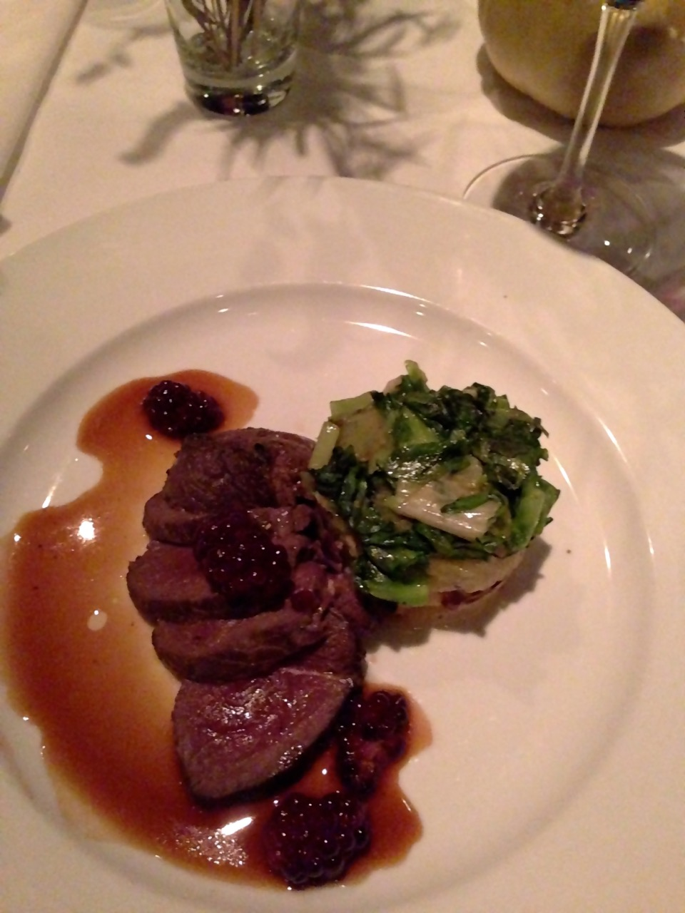 Venison at Watermark by angela roberts