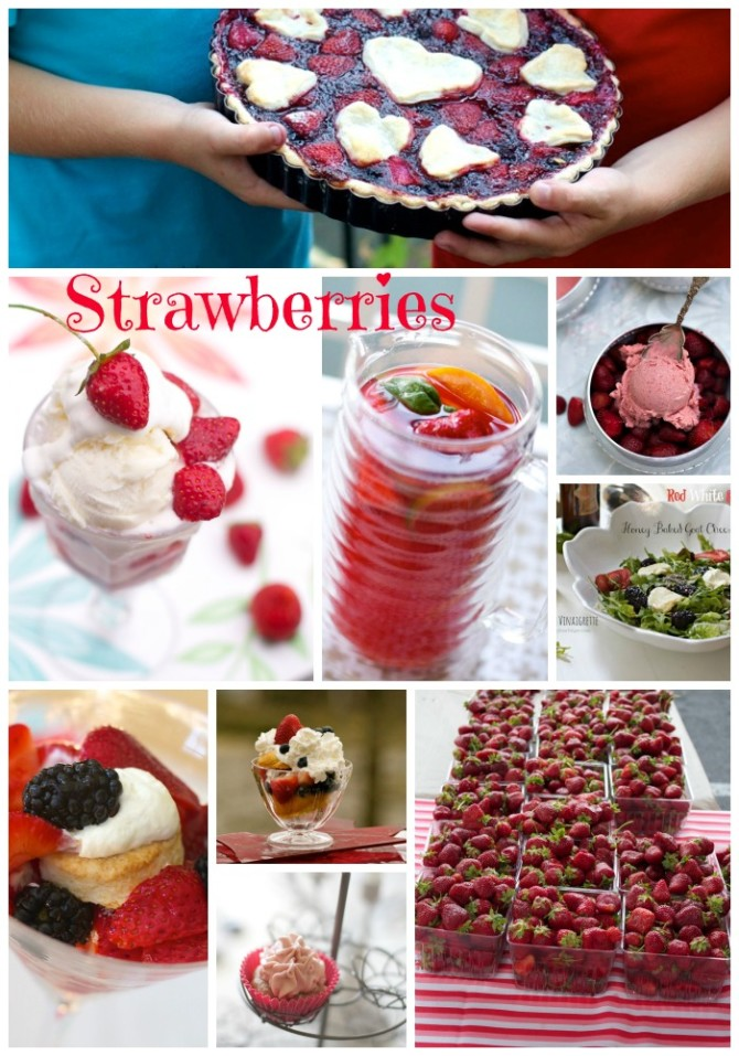 Strawberry Recipes by Angela Roberts