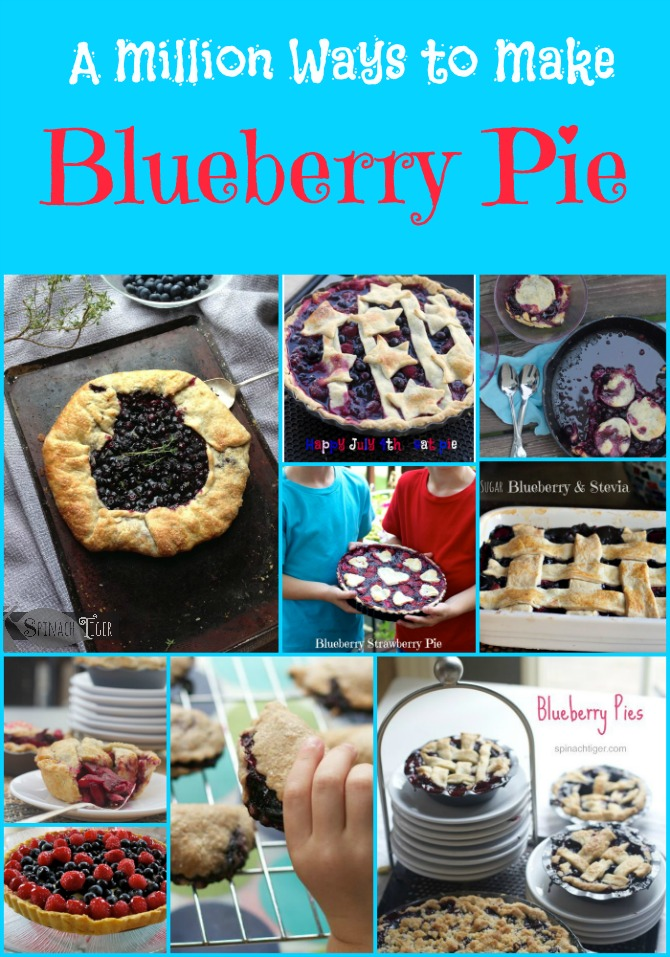 How to Make Fresh Blueberry Pie