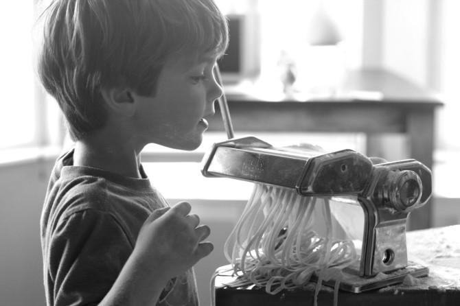 homemade egg noodles 2