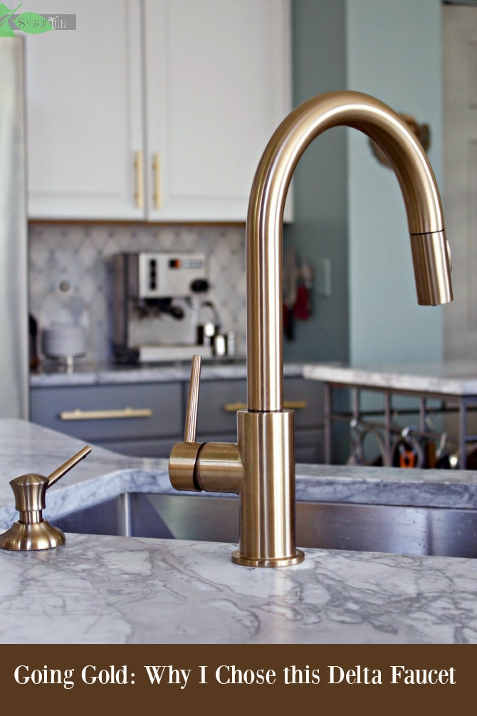 delta touch kitchen faucet bars gold super chic and functional