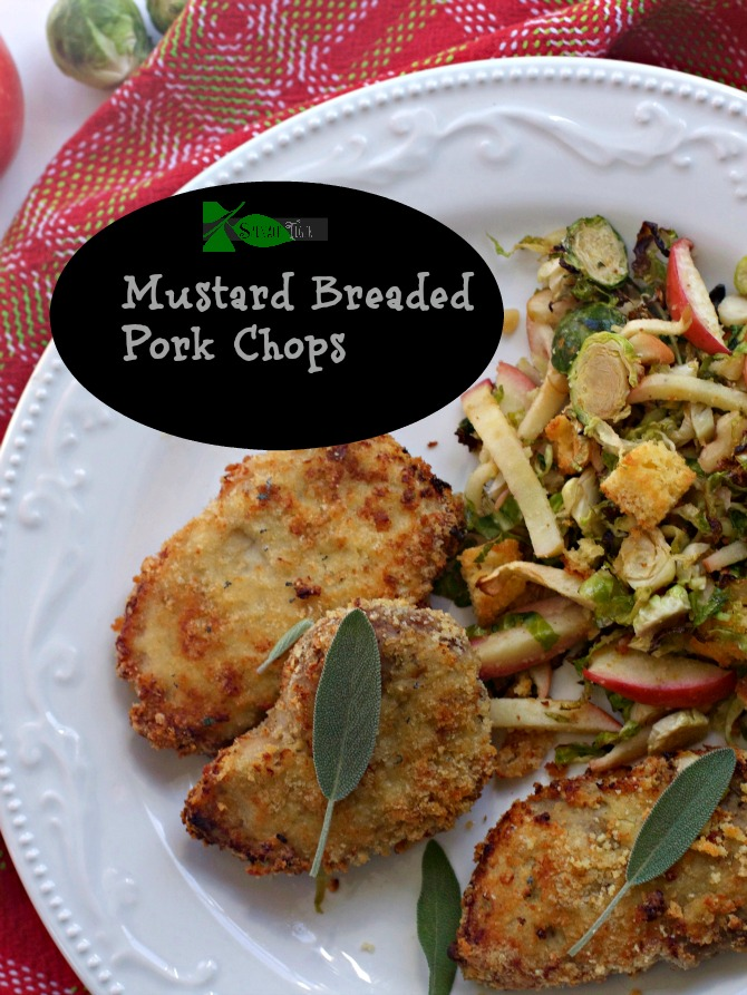 Breaded Oven Fried Pork Chop