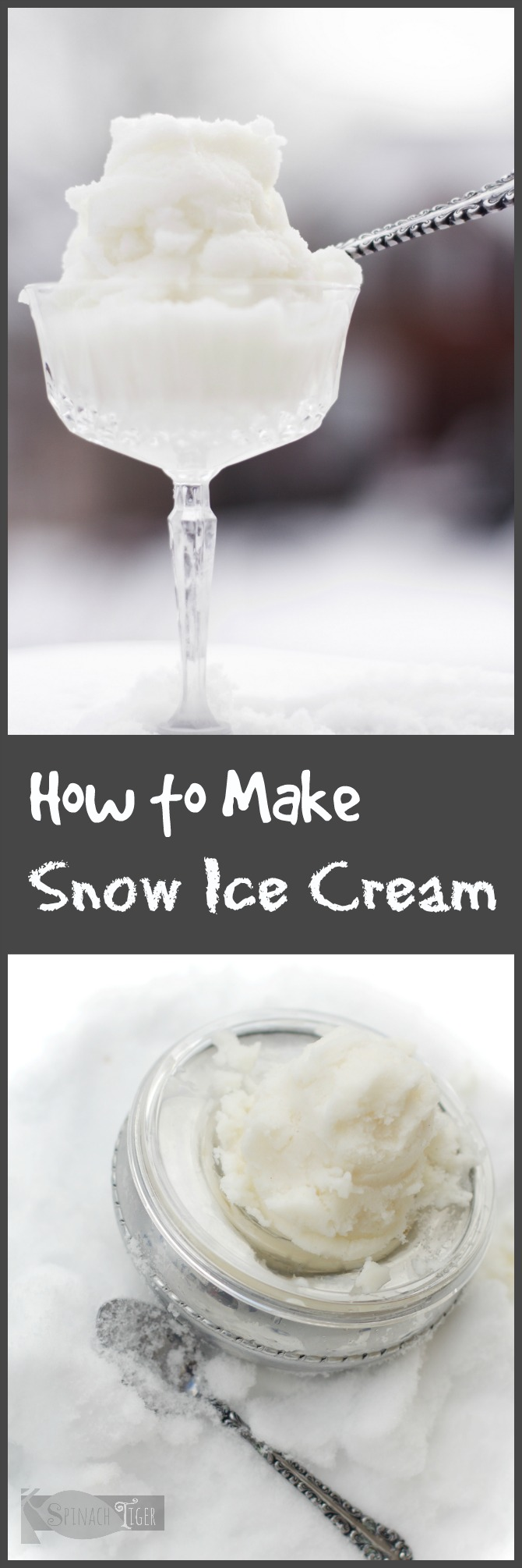 Make easy snow cream with fluffy snow, cold milk, vanilla, and sweetener. Recipe gives several variations. Southern Version with condensed milk. Paleo version with almond milk, keto version with Swerve. via @angelaroberts