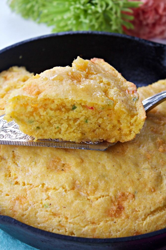 How to Make Professor Bailey's Pimento Cheese Corn Bread from Spinach Tiger