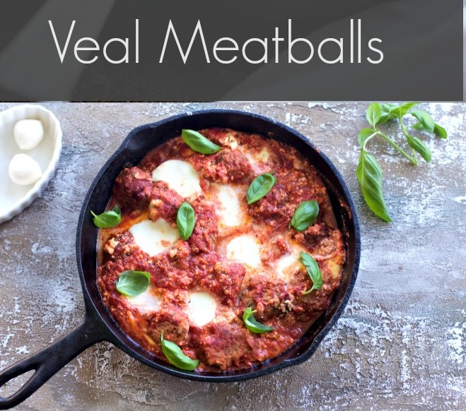 Veal Meatballs from Spinach Tiger
