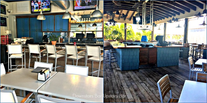 Bars at Fisher's in Orange Beach by Angela Roberts