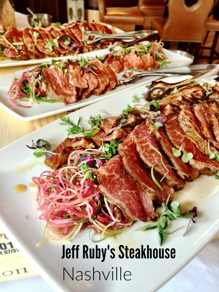 Jeff Ruby's Steakhouse Wagyu from Spinach Tiger