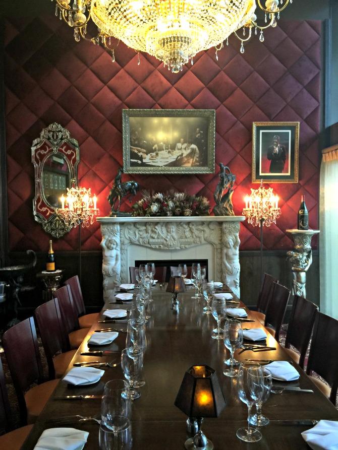 Jeff Rubys Steakhouse Private Room Nashville