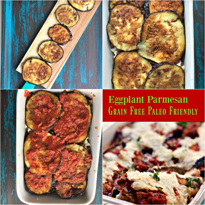 Grain Free Paleo Eggplant Parm: Easy Healthy Recipes from Spinach Tiger