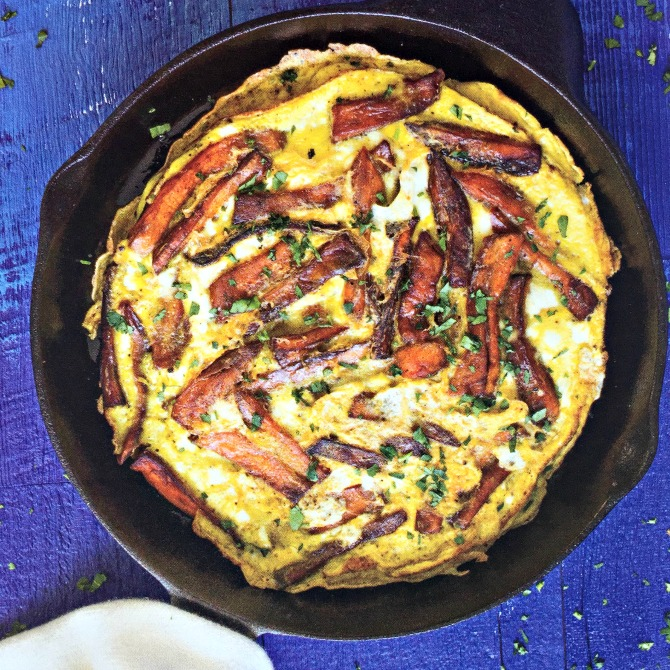 Frittata at Mediterranean Paleo Cooking Cookbook Review by Angela Roberts