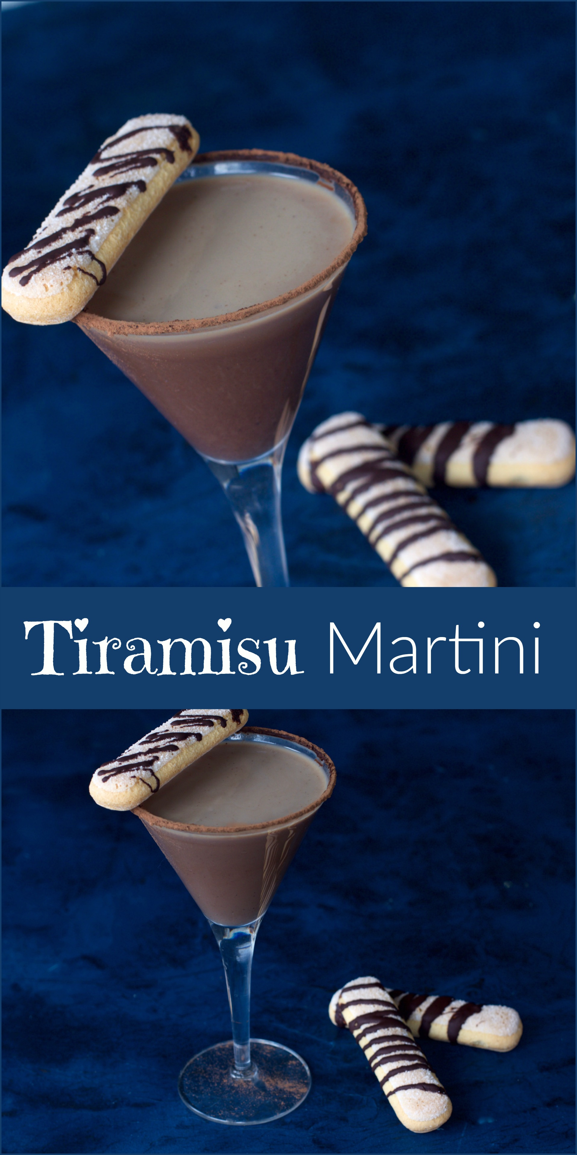 Make a Tiramisu Martini Cocktail from Spinach TIger