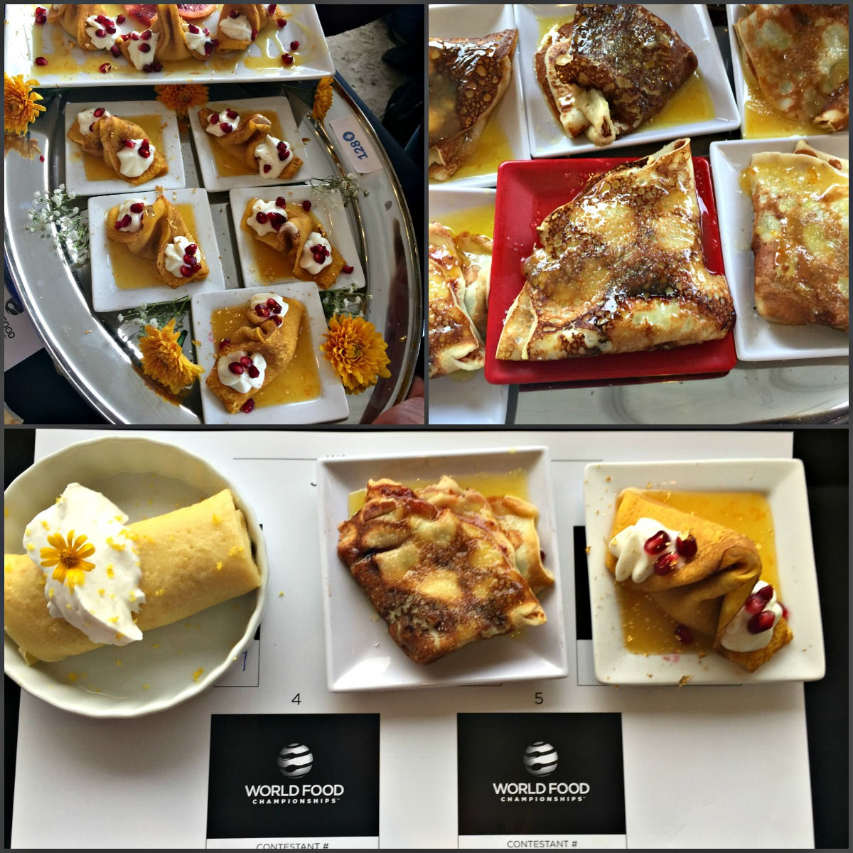 Judge Food Competition Using EAT Method at World Food Championships