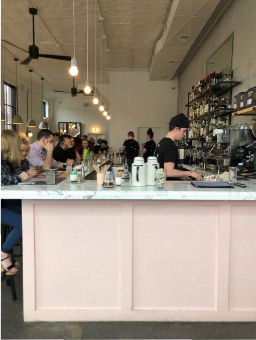 Nashville Brunch Eat at Cafe Roze from Spinach Tiger