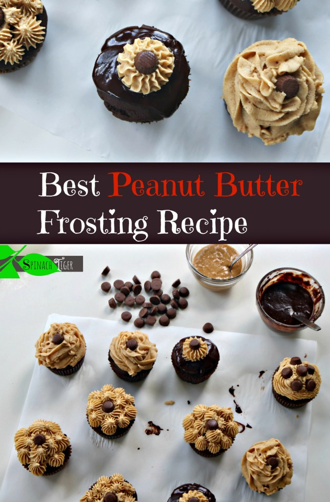 Best Peanut Butter Frosting Recipes from Spinach Tiger
