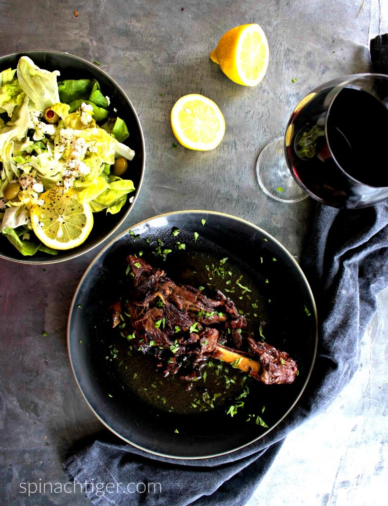 Seven Easy Lamb Recipes - Braised Lamb Shank