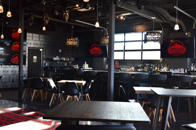 Nashville Underground Roof Top Bar from Spinach TIger