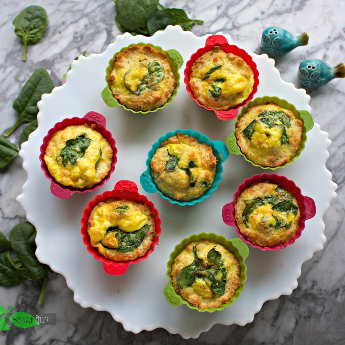 Grain Free Egg Biscuits in Muffiin Cups (Keto Friendly)