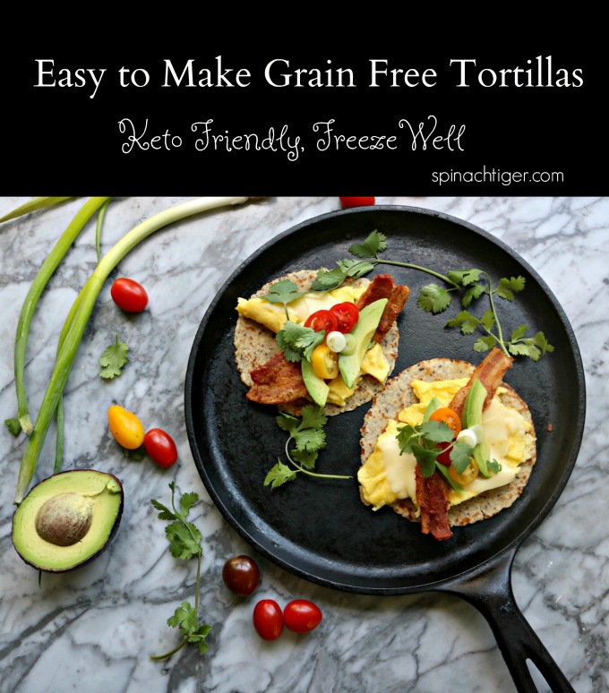 Grain Free tortillas Breakfast Taco