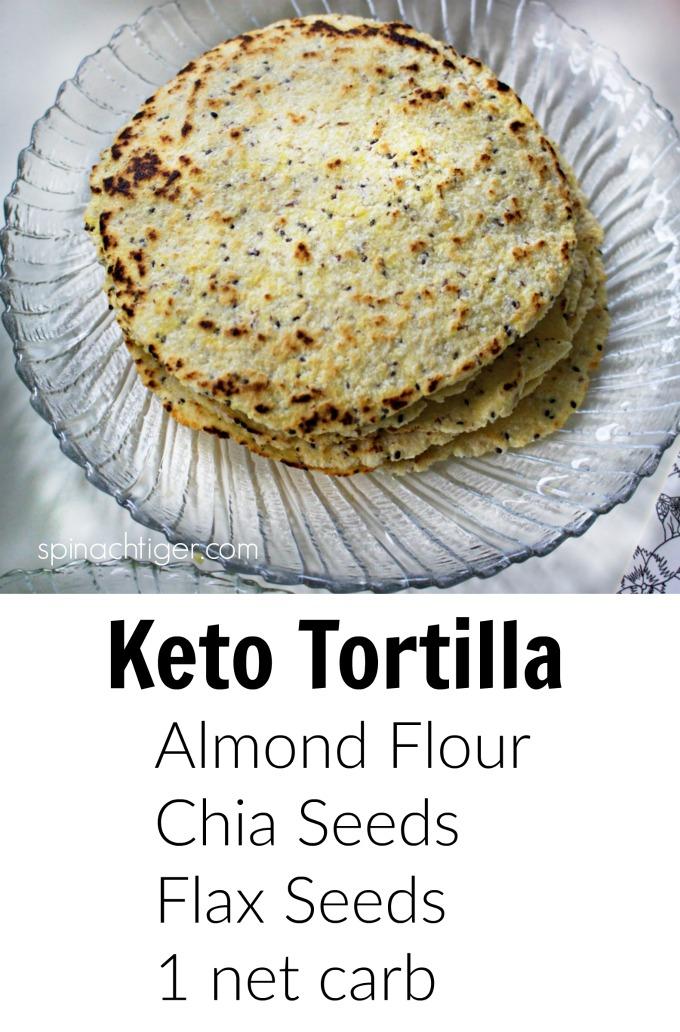 keto tortilla promo graphic