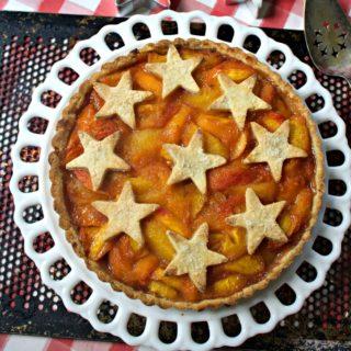 Gluten Free Peach Tart