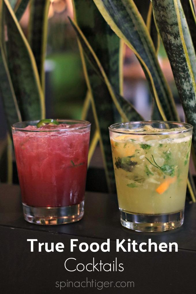 Cocktails at True Food Kitchen