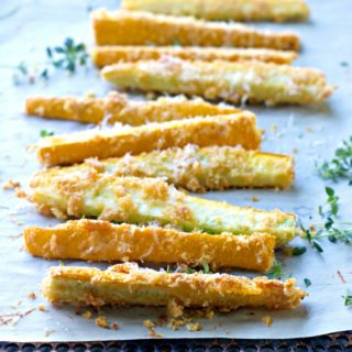 Grain Free Zucchini Fries