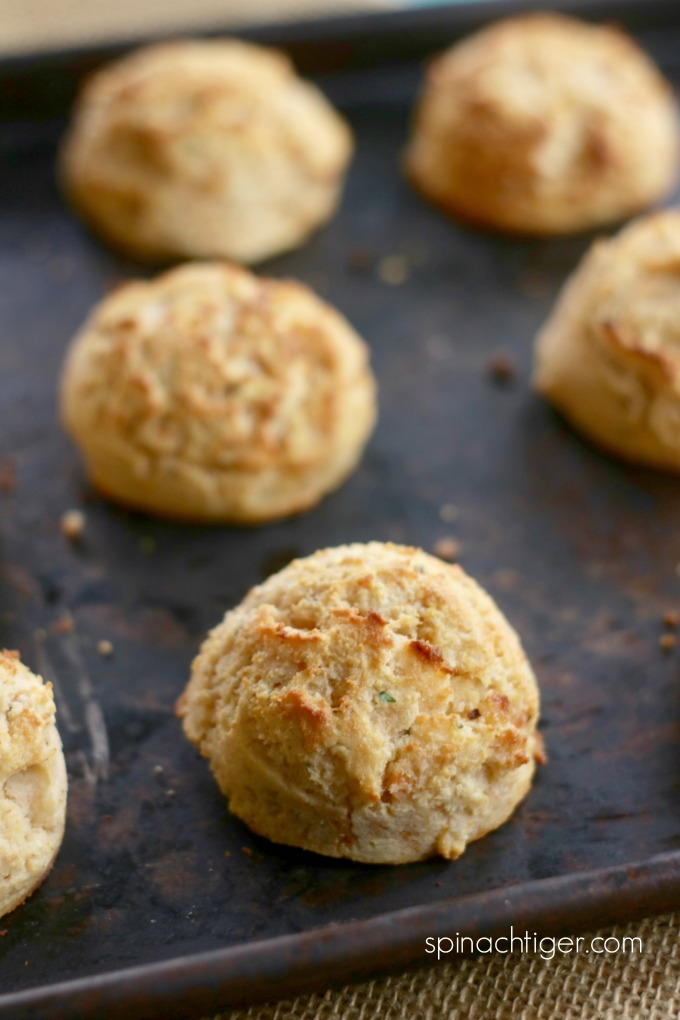Grain free Sweet Potato biscuits from My Favorite 2018 Recipes from Spinach Tiger